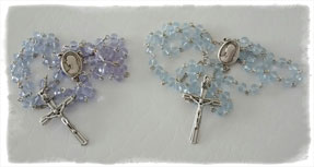 Crystal Rosaries